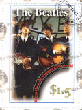 beatles γραμματόσημο Στοκ φωτογραφία με δικαίωμα ελεύθερης χρήσης