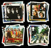beatles λαϊκά γραμματόσημα ομάδα&sigm Στοκ φωτογραφία με δικαίωμα ελεύθερης χρήσης
