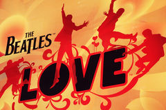 The Beatles. A musical performed by Cirque du Soleil in Las Vegas (at The Mirage casino Stock Photography