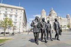 The Beatles, Albert Dock, Liverool Stock Photography