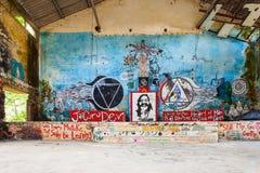 Beatles Ashram, Rishikesh Stock Photography