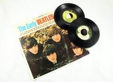 Beatles-Aufzeichnungen Lizenzfreie Stockfotos