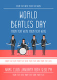 The Beatles band Stock Image