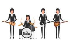 The Beatles band Stock Photo