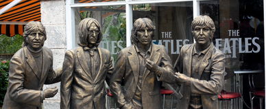 The Beatles in Cuba Stock Image
