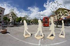 Beatles dagar i Belluno Arkivfoton