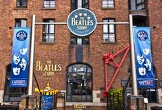 Beatles museum i Liverpool, England Fotografering för Bildbyråer