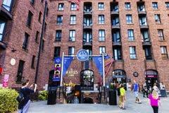 Beatles-Museum in Liverpool, England Stockbilder