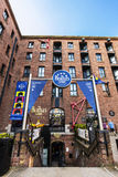 Beatles museum in Liverpool, England. LIVERPOOL, UK - AUGUST 18, 2016: The Beatles Story is a visitor attraction dedicated to the 1960s rock group The Beatles Stock Images