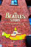 Beatles museum in Liverpool, England. LIVERPOOL, UK - AUGUST 18, 2016: The Beatles Story is a visitor attraction dedicated to the 1960s rock group The Beatles Royalty Free Stock Photography