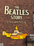 Beatles museum in Liverpool, England. Royalty Free Stock Image