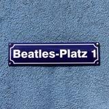 Beatles-Platz Royalty Free Stock Images