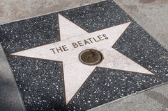 The Beatles's star Stock Images