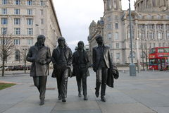The Beatles Sculpture. Royalty Free Stock Photography
