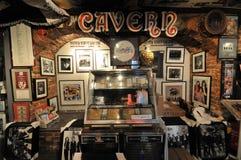 Beatles shop mathew street in liverpoo stock photos