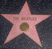 The Beatles Star. In Hollywood, LA Royalty Free Stock Images
