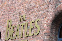 The Beatles Story Exhibition in Liverpool, in the UK Royalty Free Stock Photo