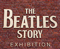 The Beatles Story Exhibition Sign Stock Photography