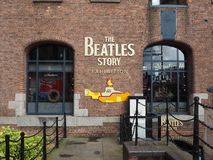 The Beatles Story in Liverpool. LIVERPOOL, UK - CIRCA JUNE 2016: The Beatles Story exhibition in Albert Dock Stock Images