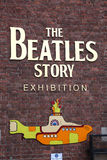 The Beatles Story, opened since May 199 Royalty Free Stock Image