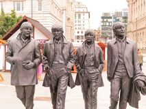 Beatles on Tour stock image
