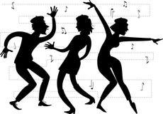Beatnik party Royalty Free Stock Image
