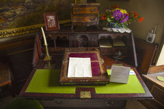Beatrix Potters Writing Desk Royalty Free Stock Image
