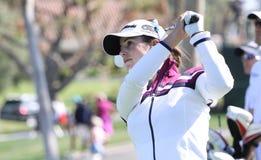 Beatriz Recari en el torneo 2015 del golf de la inspiración de la ANECDOTARIO foto de archivo