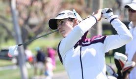 Beatriz Recari en el torneo 2015 del golf de la inspiración de la ANECDOTARIO fotos de archivo libres de regalías