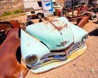 Beatty Nevada skrot royaltyfria bilder