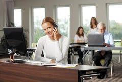 Beatuiful business woman Stock Photo