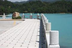 beatuiful lake Royaltyfria Foton