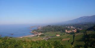 Beatutiful lanscape. Montaña de asturias Stock Image