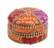 beaty ларец коробки изолировал белизну jewellery Стоковое Фото
