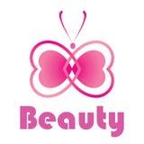 Beaty Logo Illustration Design Fotografia Stock