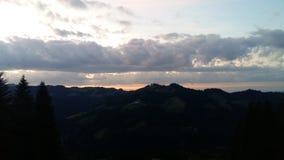 Beatyfull horisont Arkivfoto