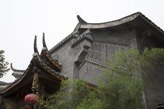 Beau bâtiment chinois Images libres de droits