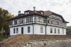 Beau bâtiment historique sur le territoire de la forteresse de Belgrade serbia photos stock