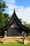 Beau bâtiment moderne au baandam dans Chiang Rai Photographie stock libre de droits