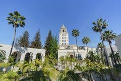 Beau bâtiment principal d'hôtel de ville de Beverly Hills photos libres de droits