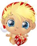 Beau bébé mignon illustration stock