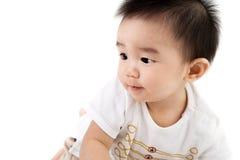 Beau bébé mignon asiatique de sourire Photos libres de droits