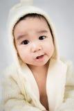 Beau bébé mignon asiatique de sourire Photos stock