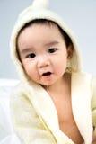 Beau bébé mignon asiatique de sourire Photographie stock