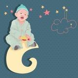 Beau bébé (mon fils) Photo stock