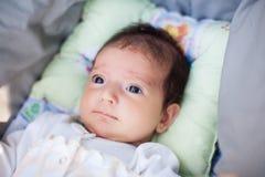 Beau bébé nouveau-né adorable Photos stock