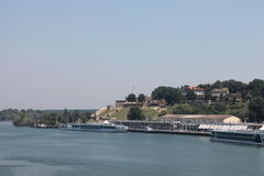 Beau Belgrade, Serbie Photo stock