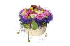 beau blanc de bouquet Image stock