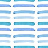 Beau bleu artistique graphique élégant magnifique abstrait lumineux de texture, turquoise, traits horizontaux d'outre-mer modèle  photographie stock