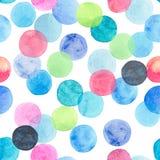 Beau bleu lumineux transparent merveilleux tendre artistique abstrait, vert, rouge, rose, jaune, orange, marine entoure le modèle Image stock